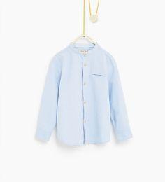Chemise structurée à poche - Disponible en d'autres coloris