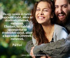 párkapcsolat, Pál Feri, idézet