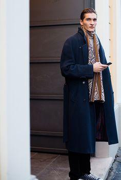Les street looks des mannequins de la Fashion Week homme automne-hiver 2015-2016 59