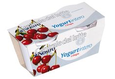 Maximale Druckfläche – optischer Vorteil am POS. Container, Cardboard Paper, Paper Board, Food Packaging, Yogurt Cups, Packaging Design, Products, Ribbon Work