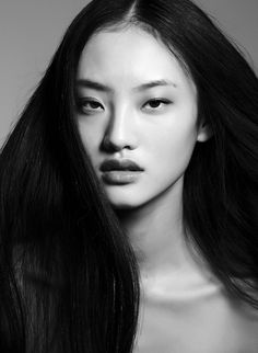 Han Bing / Photo: courtesy of Elite Model Management  / #beautiful #faces #women