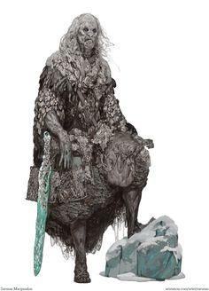 White walker, Sarunas Macijauskas on ArtStation at https://www.artstation.com/artwork/OkEak