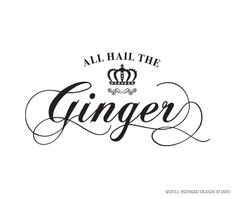 All Hail ~ The Ginger #ginger #redhead