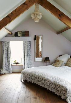 dachfenster gardinen dachschräge schlafzimmer