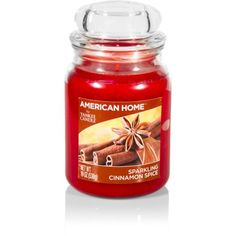 American Home by Yankee Candle Sparkling Cinnamon Spice