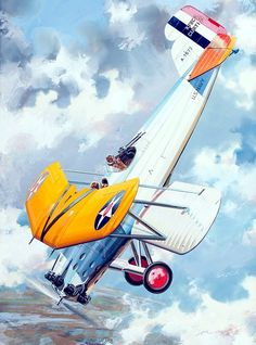 Curtiss XF8C-2 Helldiver by Jo Kotula