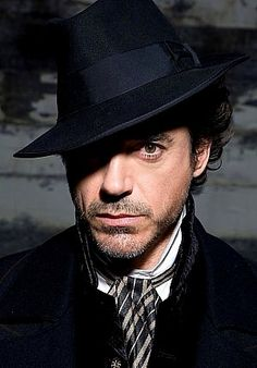 Sherlock Holmes (Robert Downey Jr.) - solving crimes and melting hearts since 2009.
