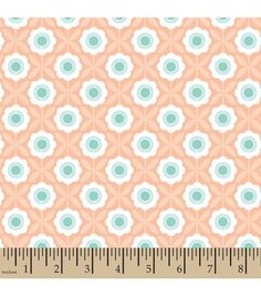 Elizabeth Olwen Cotton Fabric-Crossed Floral Whimsy
