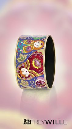 Bracelet Diva My Matryoshka - Collection Passionate Russia FREYWILLE http://fr.frey-wille.com/#Jewellery/PassionateRussia/MyMatryoshka