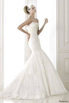 2015 wedding dress collection | ... bridal pre 2015 basel lace fit and flare weddomg dress with straps