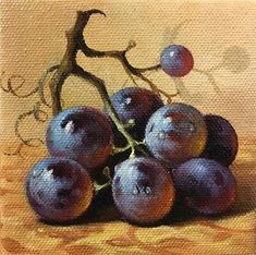 Love this oil painting from UGallery. Black Grape by Nikolay Rizhankov – ~{OIL PAINTING STILL LIFE}~ Love this oil painting from UGallery. Black Grape by Nikolay Rizhankov Love this oil painting from UGallery. Black Grape by Nikolay Rizhankov Grape Painting, Fruit Painting, Oil Painting Abstract, Light Painting, Painting Still Life, Still Life Art, Oil Painting For Beginners, Painting Tips, Painting Techniques