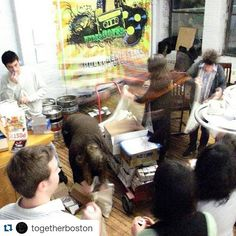 #Repost @togetherboston  #tgthrTBT to #tgthr1 and our first flyer/poster delivery at #digboston where our year one team brought Together printed materials to the street for the first time. It's been a magical 7 years thanks to our AWESOME team!  #TGTHRfam #tbt #throwback #music #festival #art #technology #dance #edm #love #family #djing #djs #nightlife #techno #house #inspiration #festival #art #technology #cambma #boston #bosarts #bostonmusic #potd #community by joe_grafton March 10 2016 at…