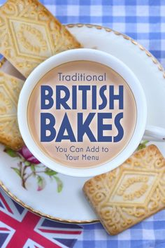 Traditional British Bakes You Can Add to Your Menu # british Baking Traditional British Desserts You Can Add to Your Menu English Desserts, British Desserts, British Dishes, English Recipes, British Baking Show Recipes, British Bake Off Recipes, Scottish Recipes, British Cookies, British Cake