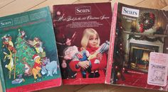 "Sears Wish Books, I really miss these. Mom would give us a set amount of money that ""Santa"" would make toys with and we circled what we wanted in the catalogs. Lots of wish changes were made and we learned how to budget for what we wanted."