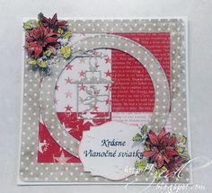Toto sú moje prvé tohtoročné vianočné pohľadnice. Ako tak sledujem blogy, meškám! Je to vôbec možné? Je...hrúza :) Zuzana