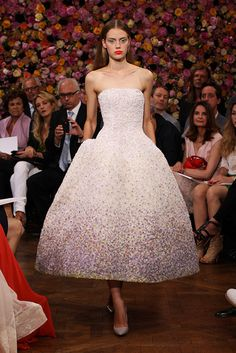 Christian Dior Fall 2012 Couture - Dior Dress - Ideas of Dior Dress - Dior Couture Gowns Dior Haute Couture, Christian Dior Couture, Style Couture, Couture Bridal, Christian Dior Gowns, Haute Couture Dresses, Christian Siriano, Miss Dior, Raf Simons