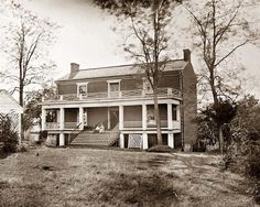 The McLean house, Appomattox Court House, Virginia; site of General Lee's surrender to General Grant on April 9, 1865