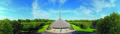 Panoramic Views Of Columbus, Indiana's Modernist Landmarks - Point of View - February 2014