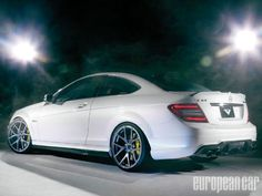C63 AMG Coupe undoubtedly provides one of the most visceral and violent driving experiences of all the Euro musclecars available today. A 6.2-liter V8