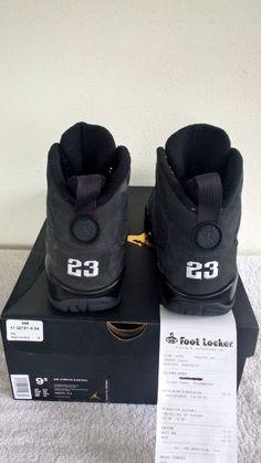 256fe72a000 ... Mens Nike Air Jordan 9 IX Retro Size 9.5 Anthracite White Black 302370  013