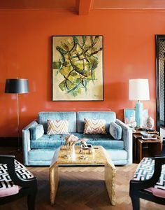 turquoise terracotta