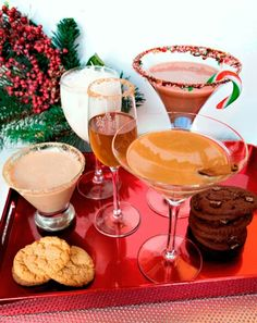 Cookie Cocktails. Snickerdoodle Martini? Yes, please! by chrystal