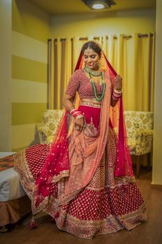 """""""Pragya & Abhimanyu"""" album of Photographer SL Art Production in Delhi NCR Indian Wedding Photography Poses, Saree Gown, Indian Bridal Outfits, Wedding Preparation, Traditional Looks, Wedding Photoshoot, Art Production, Gowns, Album"""