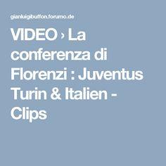 VIDEO  › La conferenza di Florenzi : Juventus Turin & Italien - Clips Clips, Videos, Boarding Pass