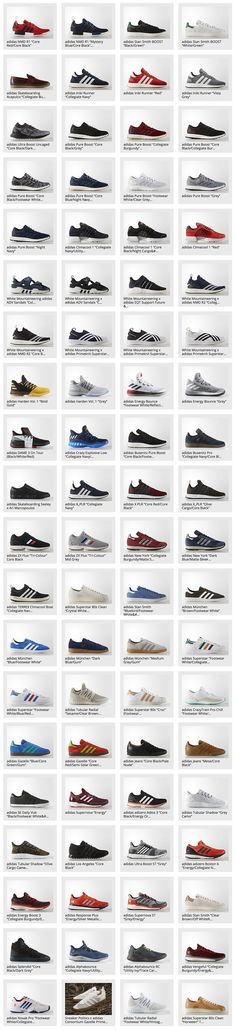 Adidas Released so far for 2017
