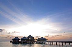 Sunset at #Huvafen #Fushi #Dhonis #Maldives http://www.maldives.com.au/maldives/maldives-resorts-details/Huvafen-Fushi-Dhonis/