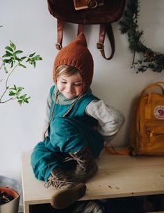 Gestrickte Gnome Hut der Elf-Pixie von runlittlecaribou auf Etsy