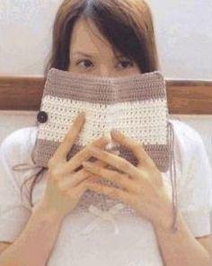 protège livre blanc beige marron...