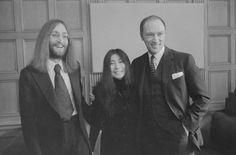 John Lennon and Yoko Ono met Trudeau in 1969