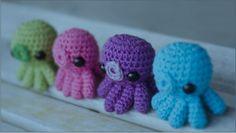 Amigurumi octopus. ☀CQ #crochet