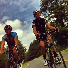 It was a beautiful day for a ride here in #NorthCarolina - how are the last days of summer working out for you? #lunchride #rideyourbike