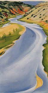 Georgia-O_Keeffe-Chama-River-Ghost-Ranch-Blue-1937
