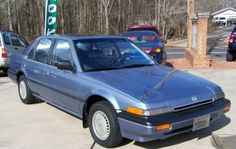 We owned our first Honda in 1986 when we purchased the new Accord model of that year in gold color.  A great ride.