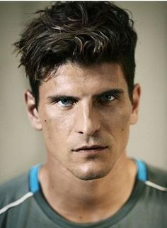 Mario Gomez #23 Germany. Yum.