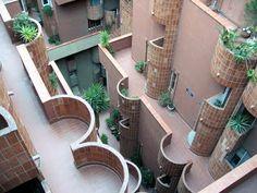 Ricardo Bofill  Walden 7  1974, Sant Just Desvern, Barcelona, Spain
