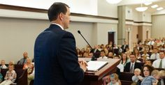 """Speaking in sacrament meeting is what some feel is """"the single most dreaded task in the world,"""" said BYU communications professor Elaine Witt, who offered tips and steps for preparing a talk during an education week presentation Church News, Lds Church, Sabbath Day Holy, Lds Talks, Lds Youth, Education Week, Holy Ghost, Relief Society, Public Speaking"""