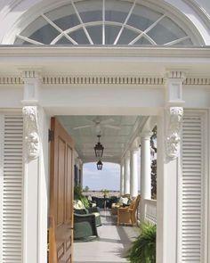 Veranda inspiration on this beautiful Charleston home…