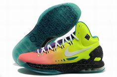 ffe40834c37 Cheap KD 5 Shoes Yellow Red Black Green Sale