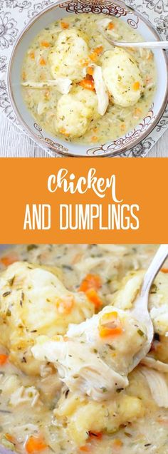 Simply Delicious Chicken and Dumplings