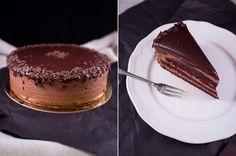 Баварский шоколадный торт/Chocolate bavarian cake