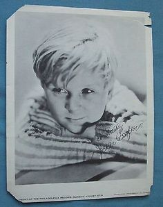 Jackie Cooper 1922 - 2011 Child Movie Star Picture Autographed