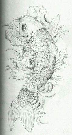 Love this desgin.  Thinking over the shoulder to symbolize the Koi jumping up Dragon Gate falls and add in a Lotus flower somewhere in there too                                                                                                                                                                                 Plus