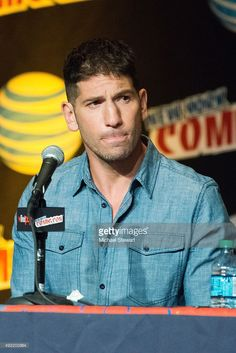 Actor Jon Bernthal attends Marvel's 'Daredevil' panel during New York Comic-Con Day 3 at The Jacob K. Javits Convention Center on October 10, 2015 in New York City.