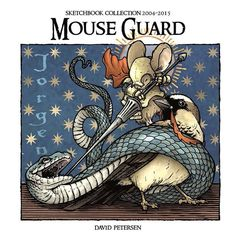 My new Mouse Guard 2004-2015 digital sketchbook collection is now available: mouseguard.bigcartel.com by mouseguard