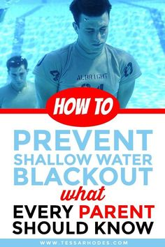 36f186e59f2c Shallow Water Blackout  What Every Parent Should Know. Safety RulesSafety  TipsSwim ...