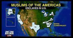Muslims Establishing No-Go Zones in America